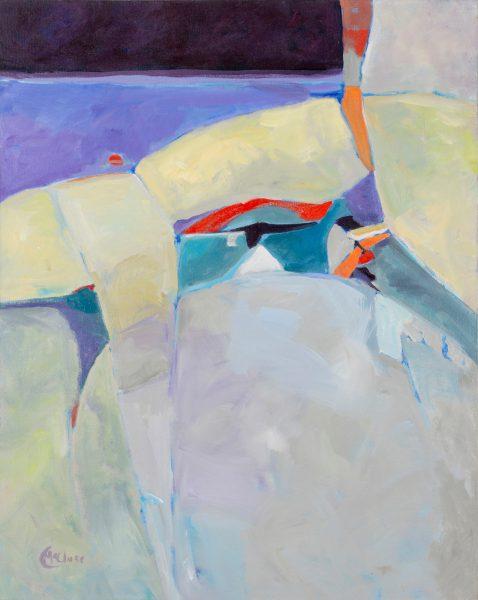 Cheryl McClure painting