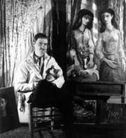 Vogel in his Chicago Studio 1942